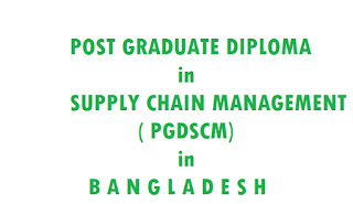institutes offer pgdscm in bangladesh