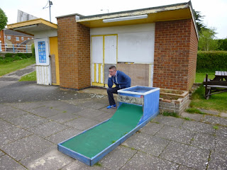 Crazy Golf course on South Parade in Skegness