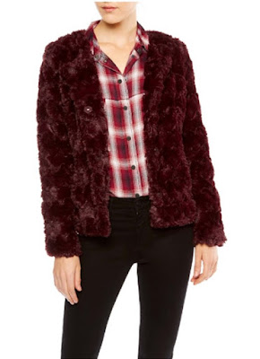 Sanctuary Clothing Faux Real Chubby Jacket
