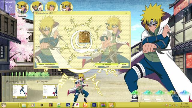Naruto Shippuden - Namikaze Minato Theme Win 7 by Enji Riz Lazuardi