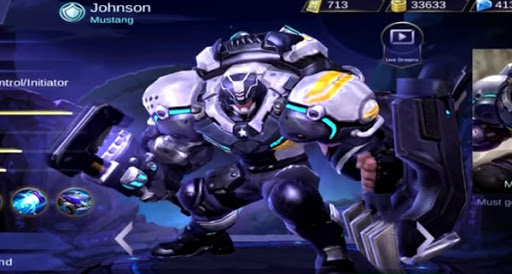 Johnson Rework Skills and Abilities