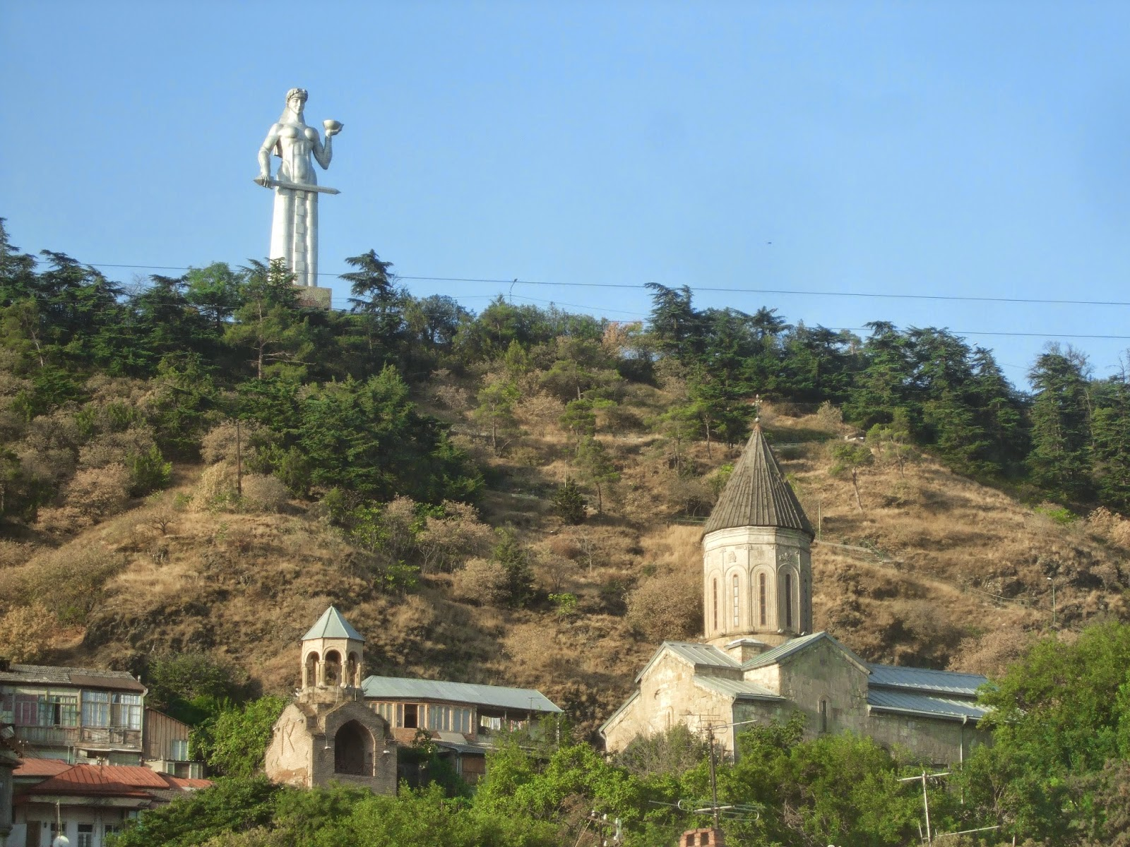 Here, There and an Attempt on Everywhere Tbilisi Part 7 of From the Caspian to the Black Sea