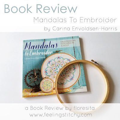 Mandalas to Embroider book review for Feeling Stitchy by floresita