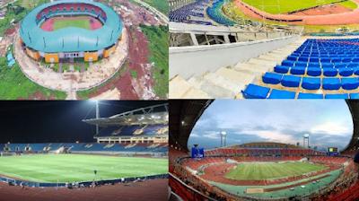 Stadion Pakansari Cibinong Bogor Jawa Barat Indonesia