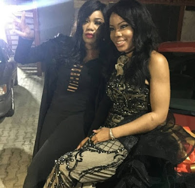 Photos and Video; Fashion Entrepreneur Toyin Lawani buys reality star Nina Brand new car on her birthday
