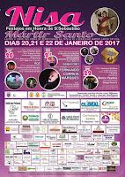 Programa Festa de São Sebastião em Nisa 2017
