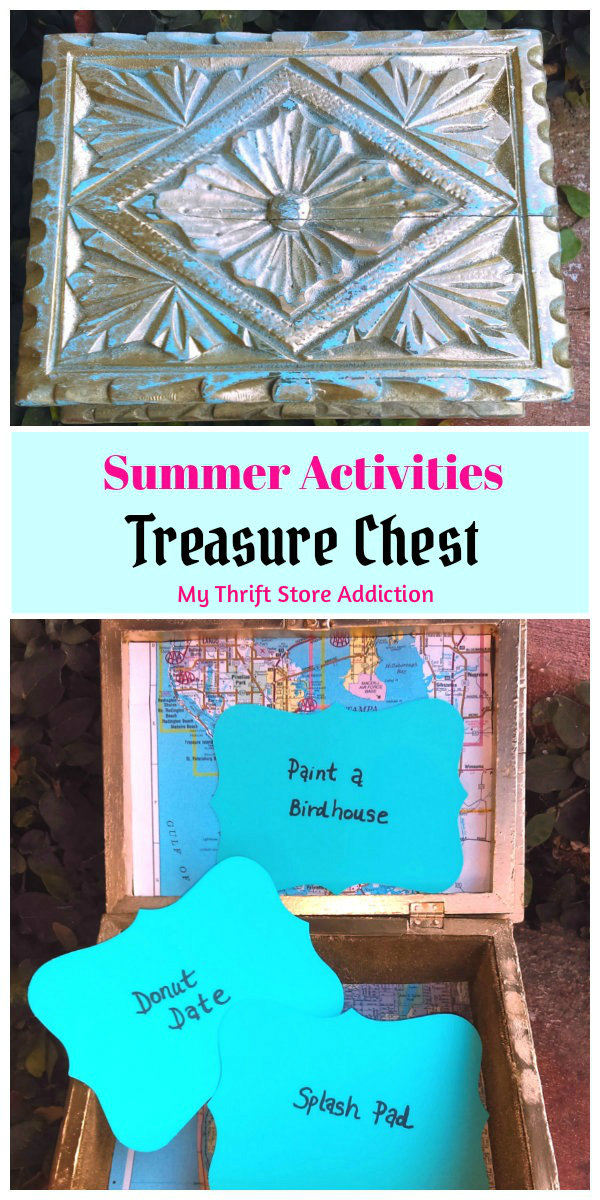 Summer activities treasure chest