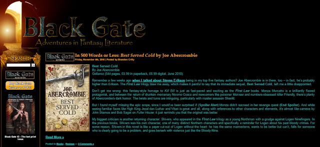 журнал Black Gate
