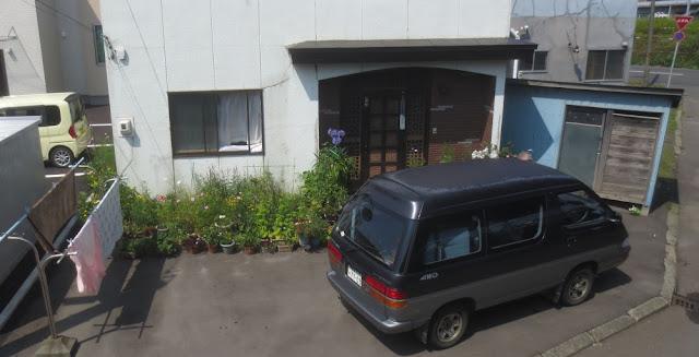 Kushiro - Haus mit Vorgarten