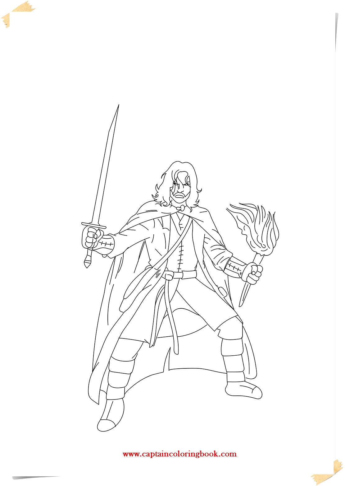 lord of the rings coloring pages ebook - Lotr Coloring Pages