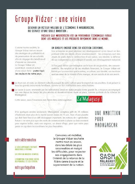 insertion presse nationale SASM / Cie Vidzar