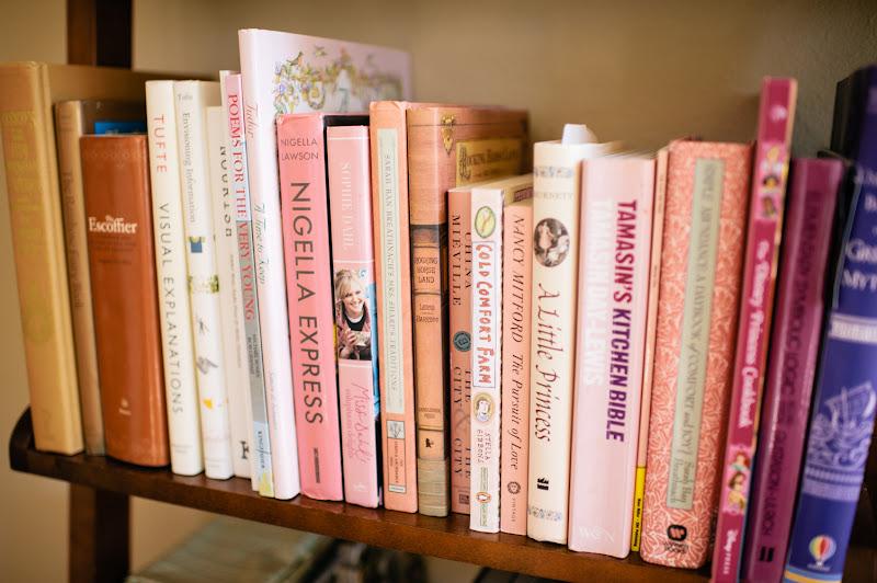 Julia 39 S Bookbag Rainbow Bookshelves