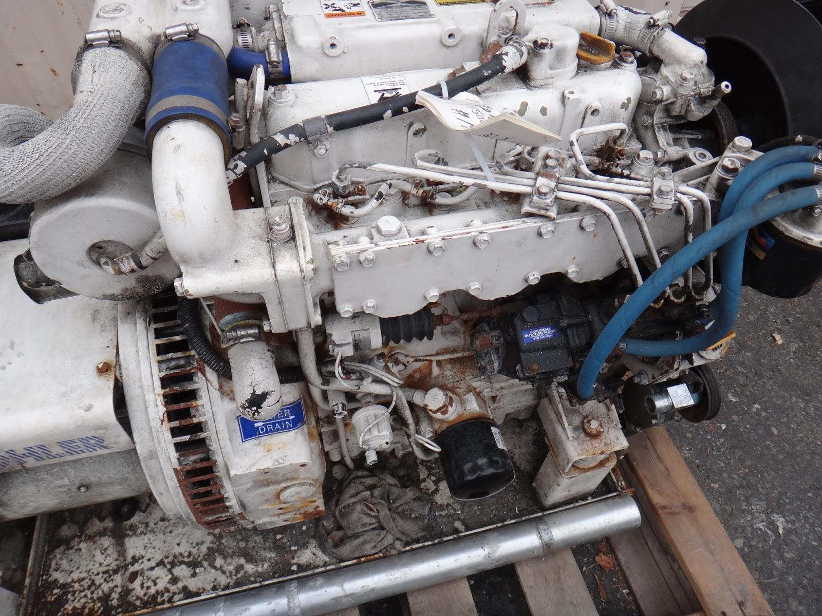 Dsc on Yanmar Diesel Engine Turbo
