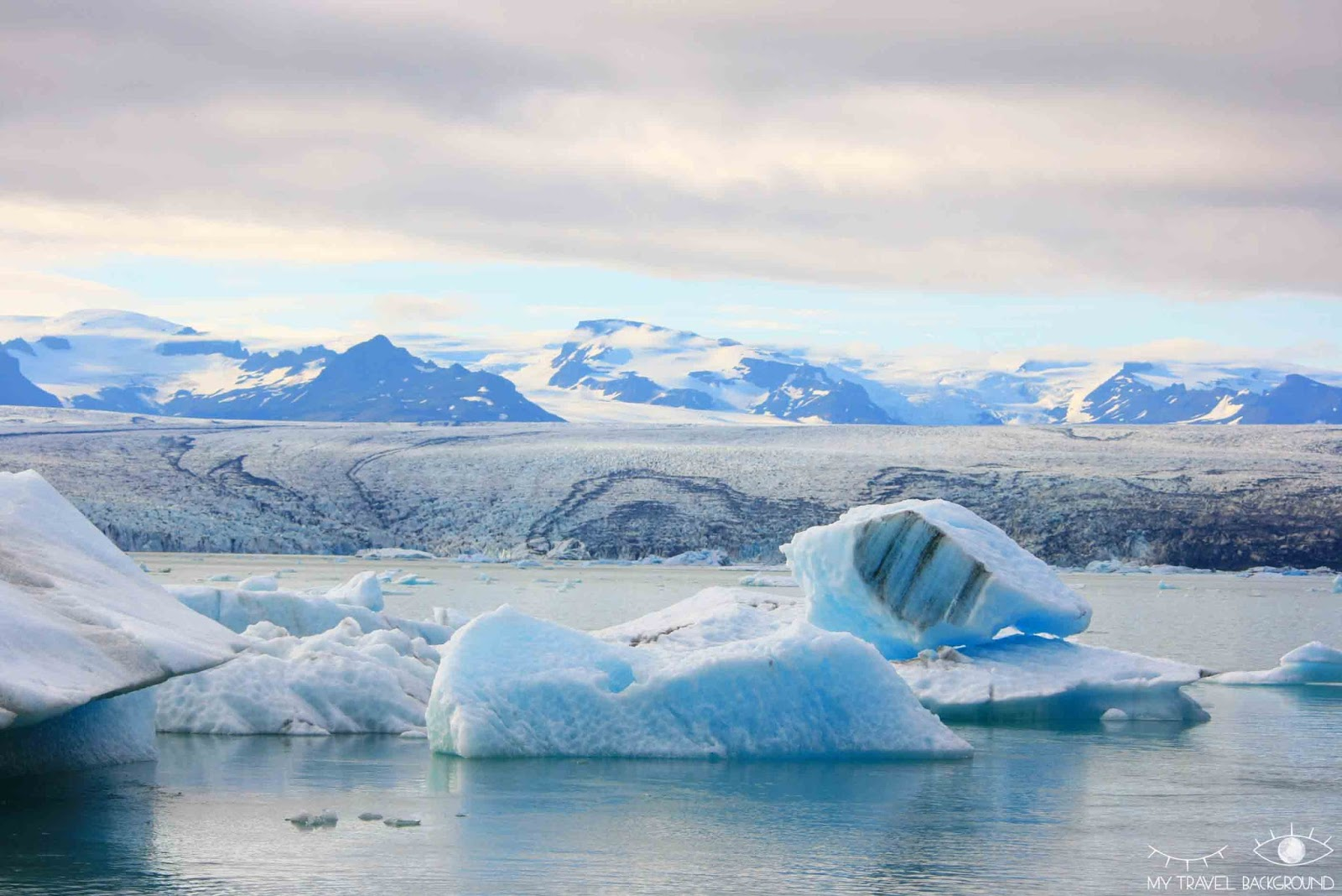 My Travel Background : Glaciers et icebergs dans le Sud de l'Islande - Jökulsarlon