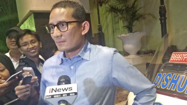 Jelang Pilpres 2019, Harta Sandiaga Uno Melorot Rp 2,8 Triliun