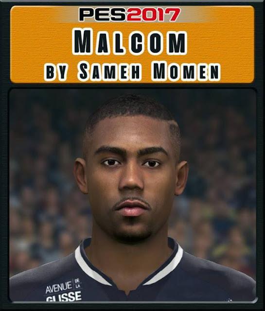 Malcom Face PES 2017