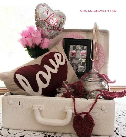 Valentine Love Suitcase