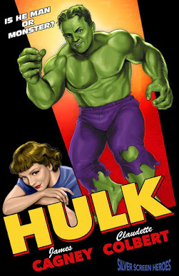 Hulk featuring James Cagney as the Green Goliath and Claudette Colbert as Betty Ross