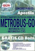 Apostila Concurso Metrobus Grátis CD Rom para Assistente Administrativo.