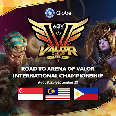 AoV PH Gamers Unite for Valor Cup Season  Games : AoV PH Gamers Unite for Valor Cup Season 3