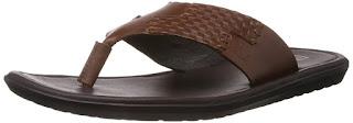 Franco Leone Mens Leather Flip Flops Thong Sandals