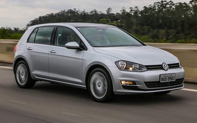 Volkswagen Golf 2017 - preço de revisões