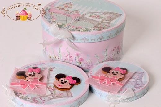Torturi Vioricas Cakes Marturii Botez Minnie Mouse