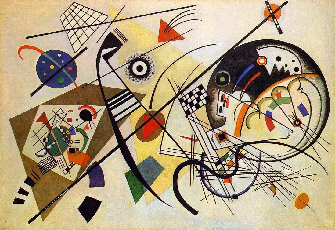 Linha Transversal - Kandinsky e suas pinturas | O pioneiro da arte abstrata