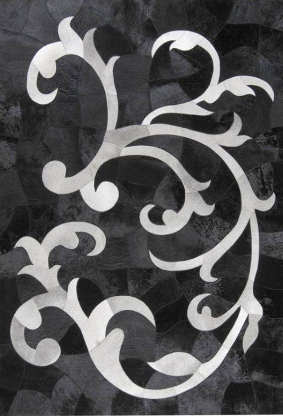 karpet motif daun