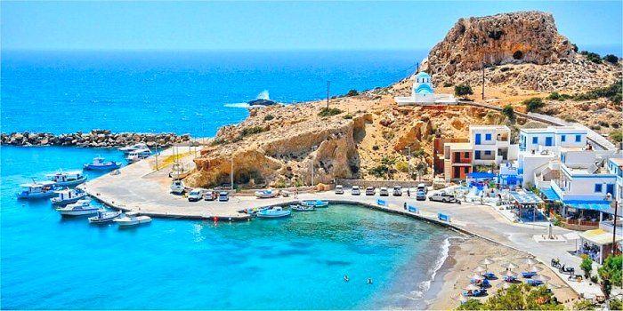 Spiagge costa ovest di Karpathos