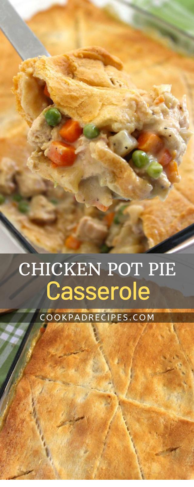 Chісkеn Pоt Pie Casserole