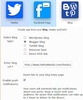 Cara menjadikan blog sebagai aplikasi android3