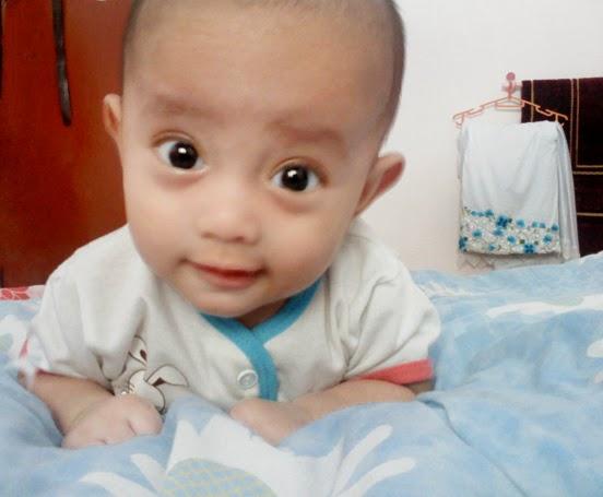 muhammad naufal bayi belajar meniarap