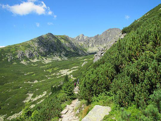Dolina Furkotna (słow. Furkotská dolina).