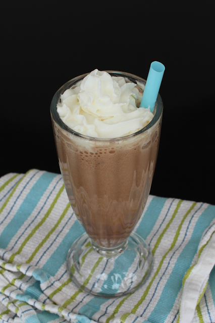 Sweet Chocolate Mint Protein Smoothie