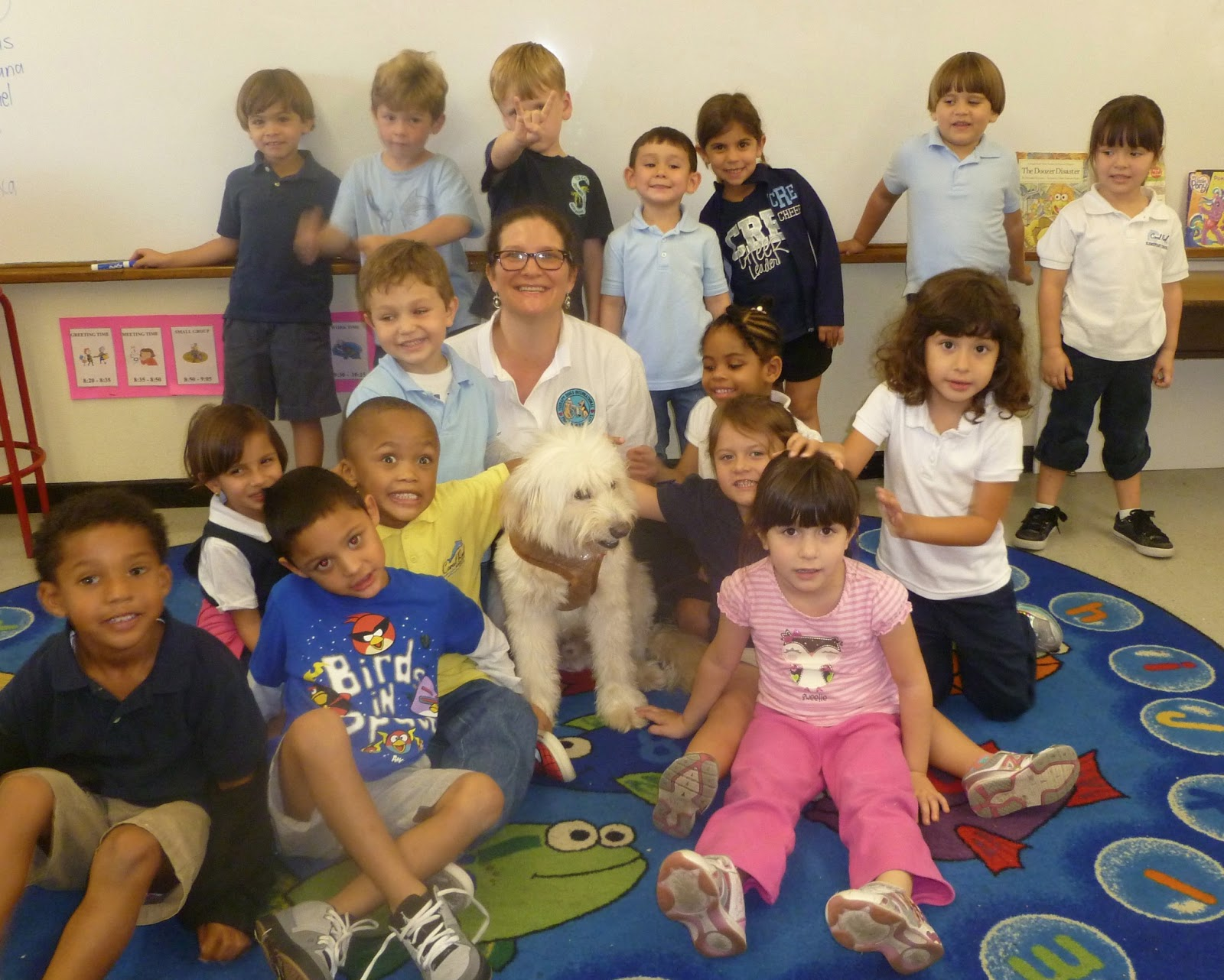 The Mitzvah Dog Blog Career Day At Coral Reef Elementary