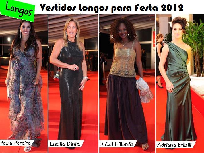 a8622f20fd Para esse verão 2012 os vestidos longos estão chegando como uma das  tendências que promete fazer um grande sucesso. Claro que muitas mulheres  gostam dos ...