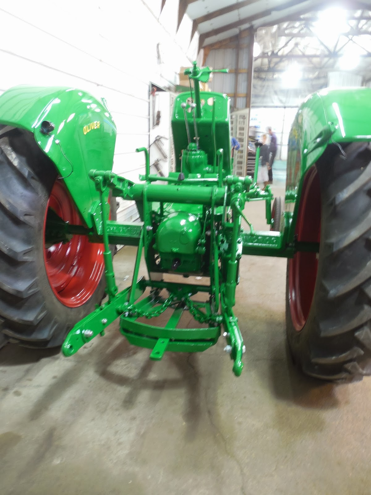 Paint And Primer >> Johnson Family Tractors: 1955 Oliver Super 77 Restoration