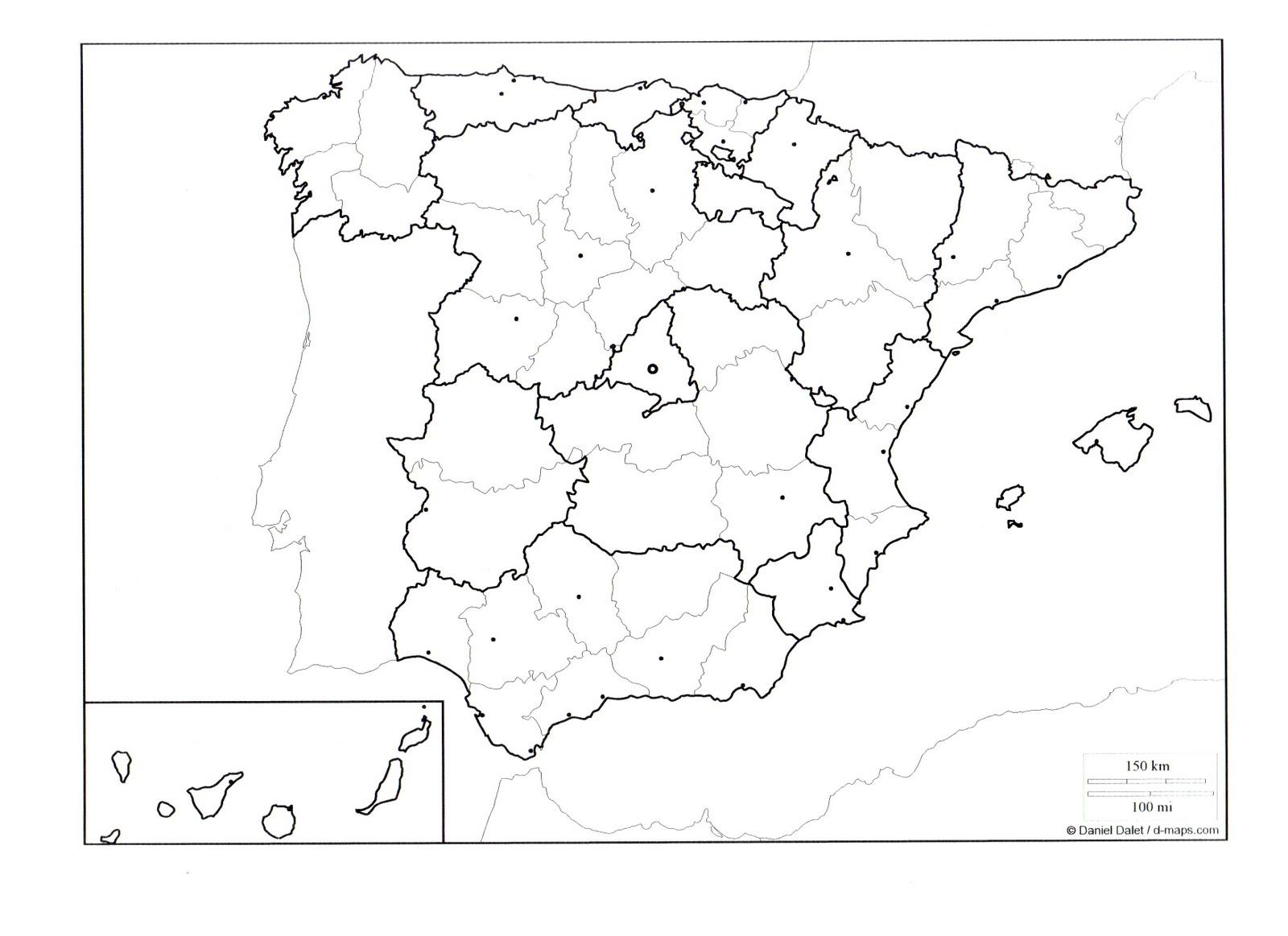 Marinaeduca Mapas Interactivos De Espana