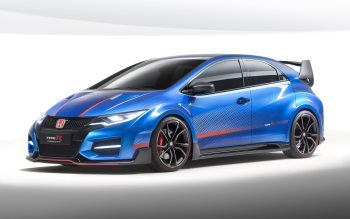 Wallpaper: Honda Civic Type R 2015