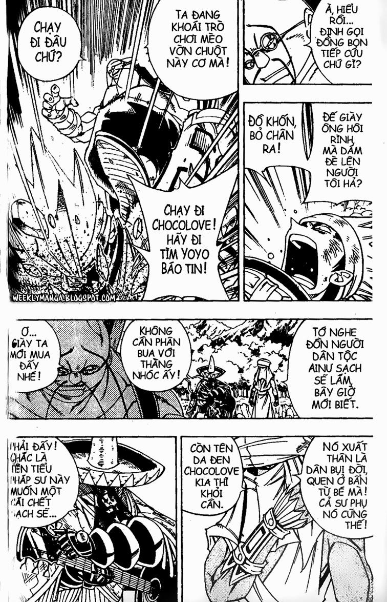 Shaman King [Vua pháp thuật] chap 152 trang 11