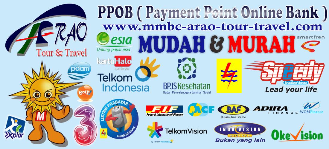PPOB Online dari MMBC ARAO Tour and Travel