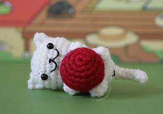 Free Amigurumi Cat : 2000 free amigurumi patterns: neko atsume cat! snowball
