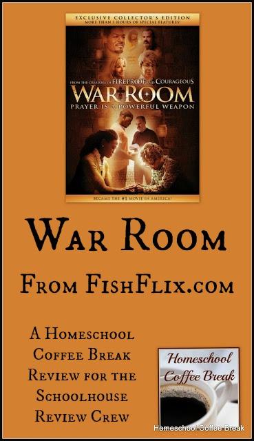 War Room DVD (From FishFlix.com - A Schoolhouse Crew Review) on Homeschool Coffee Break @ kympossibleblog.blogspot.com