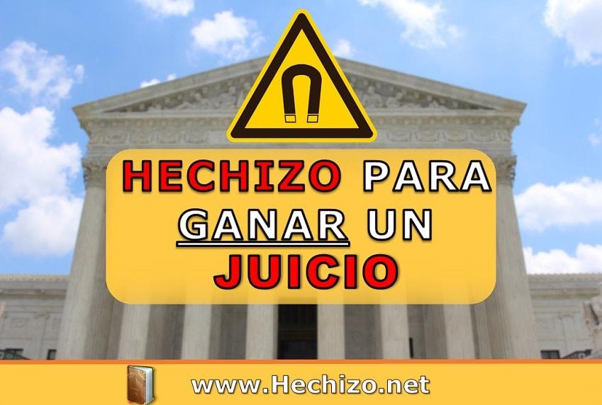 Hechizo Ganar Juicio Fácil Fuerte y Casero