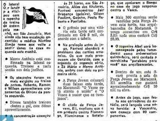 Torcidas do Vasco  FORÇA JOVEM 1977  ANIVERSÁRIO DE ABEL 3610c41bc82bd