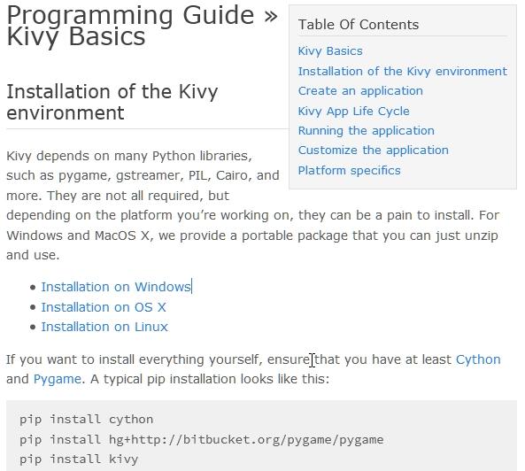 Kivy & Python: Creando una aplicación Kivy