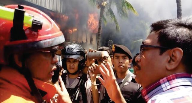Pasar Senen Kebakaran, Djarot Malah Kampanye!