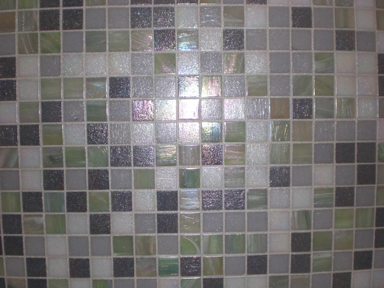 Piastrelle mosaico trend mosaico in vetro colorato hexagonal