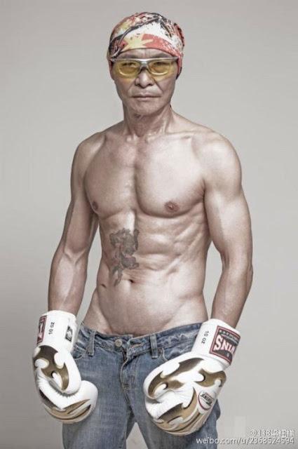 Abuelo más fuerte del mundo sorprende internet con su físico